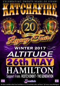 Katchafire LIVE @ Altitude (26th May)