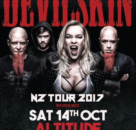Devilskin NZ Tour 2017  (14th Oct)