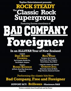 Bad Company, Foreigner: Rock Steady Supergroup