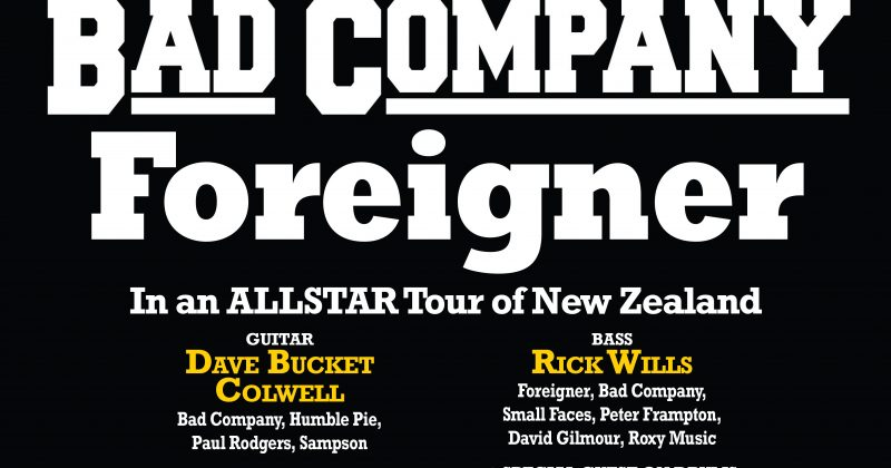 Bad Company, Foreigner: Rock Steady Supergroup  (19th Jan)