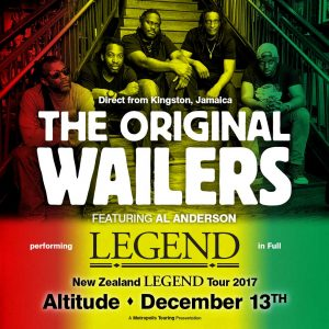 The Original Wailers @ Altitude on Wednesday 13th December