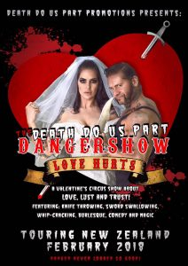 The Death Do Us Part Danger Show: Love Hurts @ Altitude on Sat 17th February