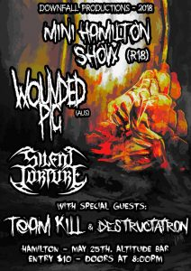 Wounded Pig & Silent Torture LIVE @ Altitude