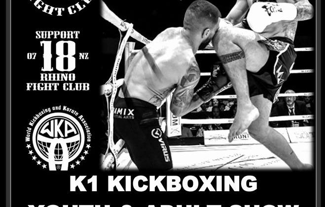 Battle in the Waikato (Round 10) – K1 Kickboxing  (21st April)