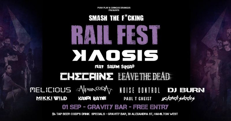 Smash the F*cking Rail Fest  (1st Sept)