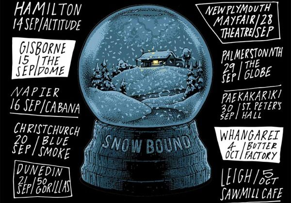 The Chills – Snow Bound tour, with Reb Fountain (solo)  (14th Sept)