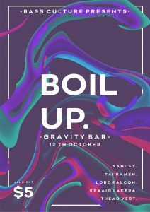 Boil up ep 1 @ Gravity