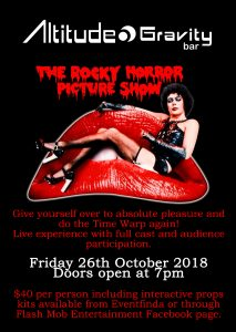 The Rocky Horror Picture Show Shadowcast @ Altitude on Friday 26th October