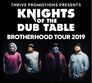 Knights of the DUB Table - The Brotherhood Tour @ Altitude on Thursday 24th January 2019