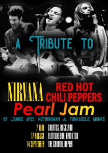 Nirvana Tribute 17th Aug 2019