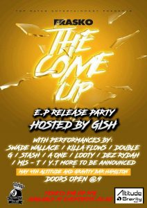 The Come Up EP Release Party @ Altitude